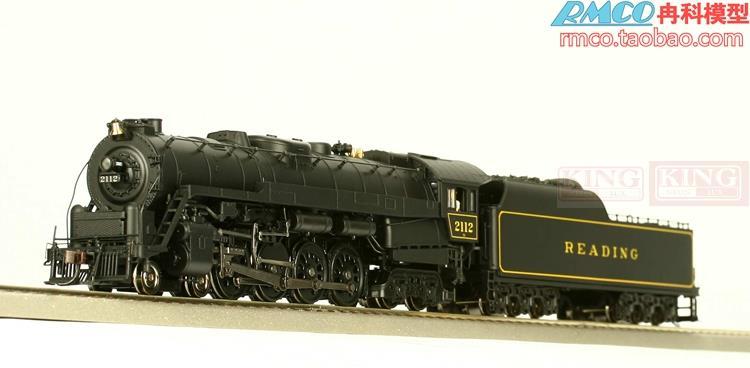 [spot] BLI HO T1 4-8-4 digital train model steam car synchronous smoke steam train