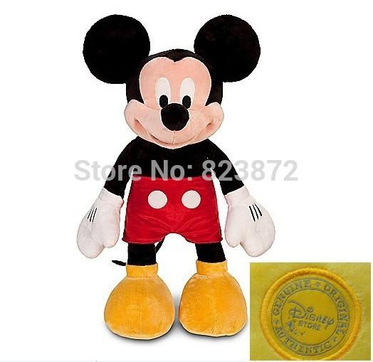 Original Mickey Pelucia Mickey Plush Toy 45CM 18'' Cute Minnie Stuffed Animals Kids Toys for Children Gifts(China (Mainland))