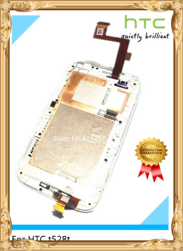 white ~Original Full LCD Display&amp; Touch Screen Assembly frame For HTC One sv and tools<br><br>Aliexpress