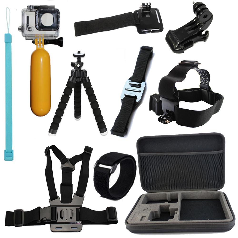 GoPro Accessories Chest Mount Harness Chesty Strap for HD Go Pro hero 1 2 3 4 Black Edition Xiaomi Yi SJCAM SJ4000 Accessories