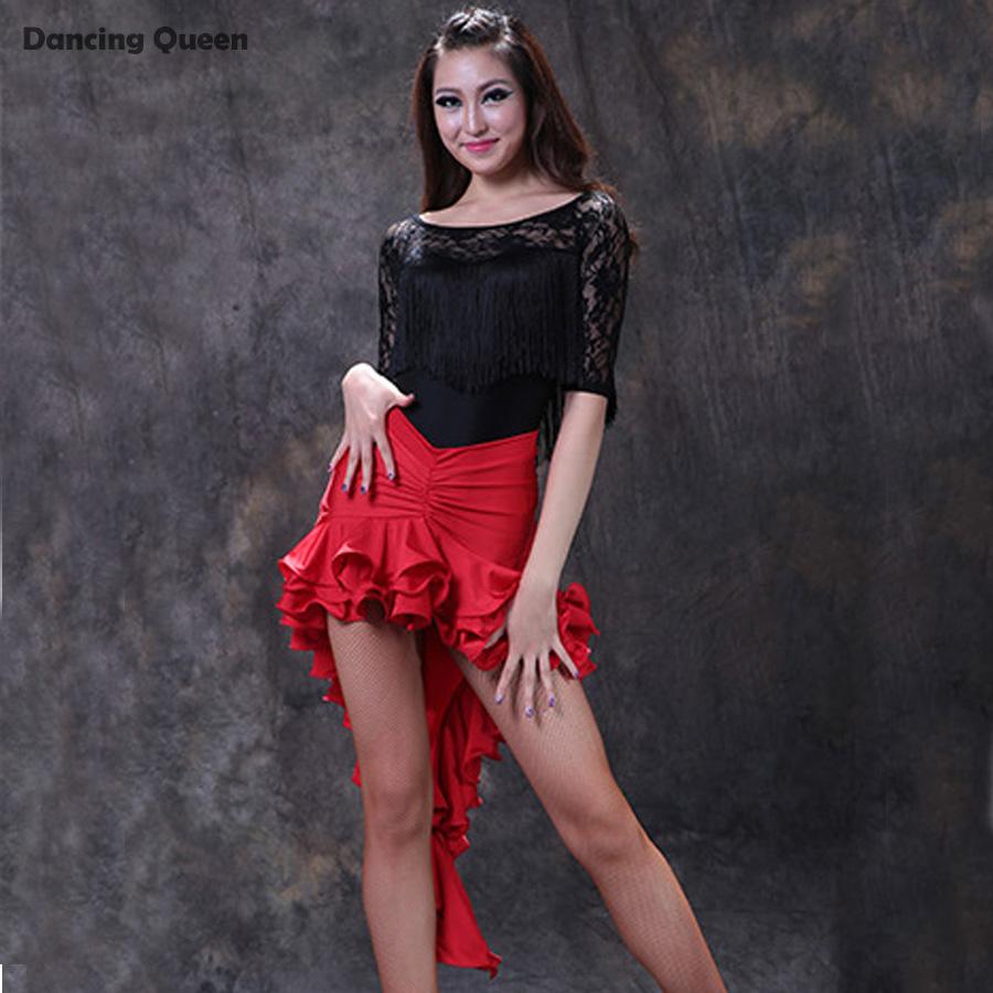 2015 Latin Dance Costumes For Women 2pcs(Top+Skirt) Ballroom Dance Wear Flamenco Dresses Regatas Femininas Roupa De GinasticaОдежда и ак�е��уары<br><br><br>Aliexpress
