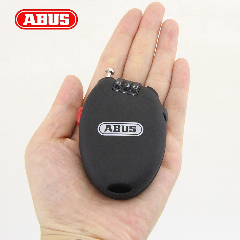 Abus mountain bike lock bicycle lock password lock cable lock helmet lock luggage bag luggage lock<br><br>Aliexpress