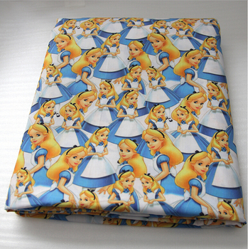 42190 50*147cm Cartoon fabric patchwork printed cotton fabric for Tissue Kids Bedding home textile