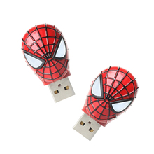 Buy Pendrive 32 GB Spiderman Usb flash drive 4gb/8gb/16gb/32gb/64gb usb pen drive car/gift/disk memory Stick Hero key for $2.60 in AliExpress store