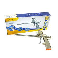 hot selling full metal polyurethane plastic foam glue gun sealant PU foaming agent gap sealing tools(China (Mainland))