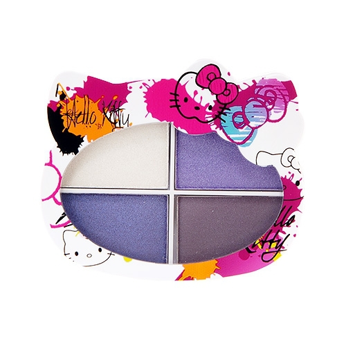 Hello Kitty Eyeshadow Quad 6.4g Makeup Eyes Color: Pretty Punk #7954(China (Mainland))