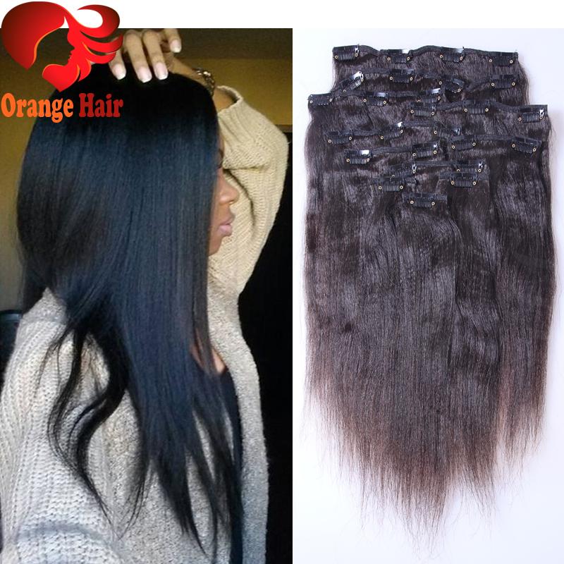 Yaki Human Hair Clip In Extensions Reviews 83