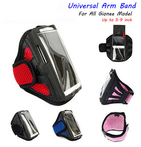 Outdoor Sport Running Arm Band Gym Strap Holder General Case Cover For Gionee elife E7 Universal Bag For elife E3 E5 S7 GN90006(China (Mainland))