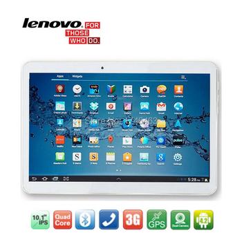 10 дюймов планшеты леново A101 MTK6582 четырехъядерных процессоров IPS 2 г оперативной памяти 32 г ROM две сим-карты андроид 4.4 3 г планшет PC 7 9 10.1