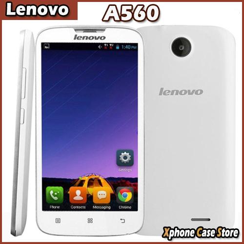 Original 3G Lenovo A560 5.0'' Smart Phone MSM8212 1.2GHz Quad Core Android 4.3 GPS ROM 4GB WCDMA GSM Dual SIM Multi Language(China (Mainland))