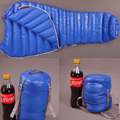 Hot Sales Blue Famous Aegismax outdoor ultralight mummy type white Goose down camping spring and autumn