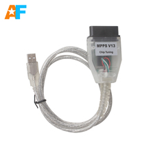 Free Shiping! SMPS MPPS V13.02 ECU Tuning OBD2 Remap Cable MPPS V13.02 Auto ECU Chip Tuning Tool