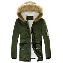 2015 Jackets Hot Selling Man Jacket Casual trench coat men winter jacket men Fur collar jacket coat (China (Mainland))