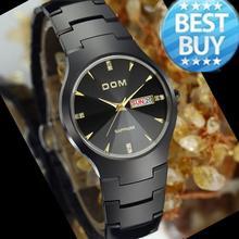 Watches men luxury brand Top Watch DOM quartz men sport wristwatches dive 200m fashion casual watches sapphire relogio masculino