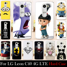 Buy LG Leon C40 4G LTE H340N H324 Hard Plastic Mobile Phone Cover Case DIY Color Paitn Cellphone Bag Shell Free for $1.29 in AliExpress store