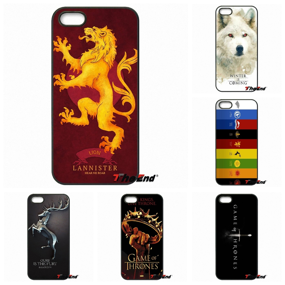 Luxury Game of Thrones House Emblems Logo Phone Case For Sony Xperia X XA XZ M2 M4 M5 C3 C4 C5 T3 E4 E5 Z Z1 Z2 Z3 Z5 Compact(China (Mainland))