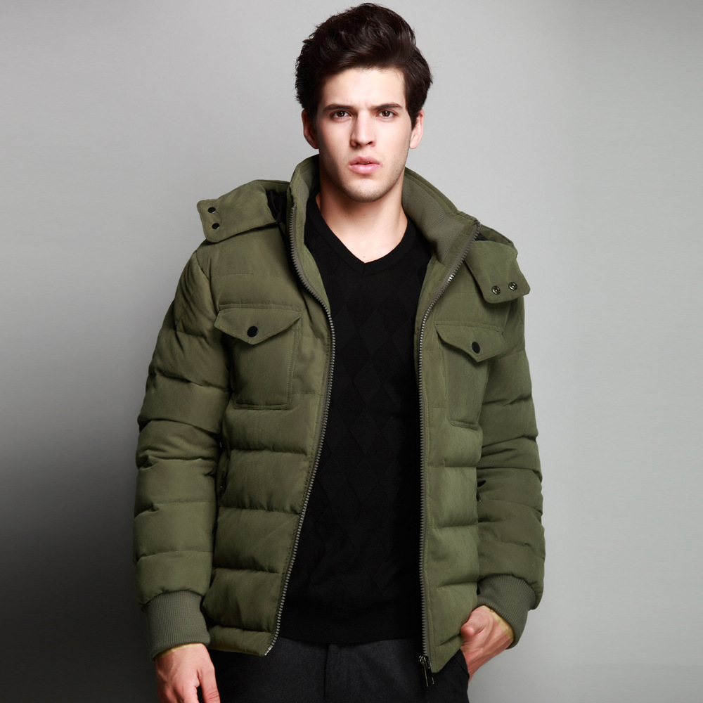 Green Parka Jacket Mens - JacketIn