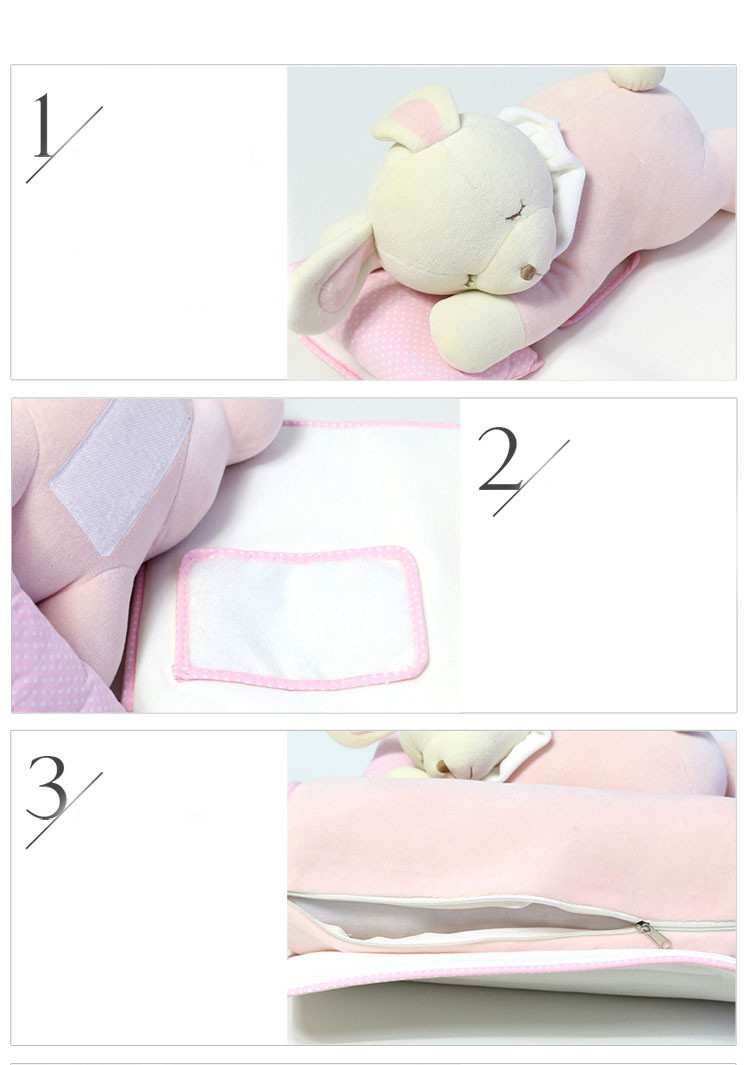 0-3 years Newborn baby pillow Manufacturer multifunctional neck protection child bedding set sound asleep pillow with cartoon child toys (6)
