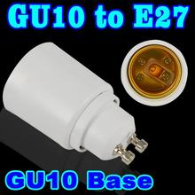 GU10 TO E27 LED socket adapter Led Light Bulb Base wall Lamp Holder GU10-E27 lampholder candle adapter converter Extender(China (Mainland))