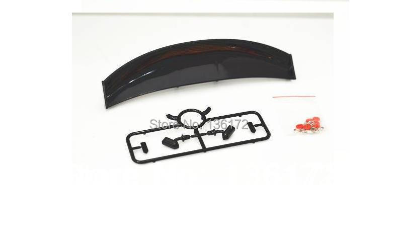 1/10 RC car accessories 1/10 RC drift car wing set/1/10 Lexus spoiler free shipping(China (Mainland))