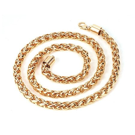 fashion jewelry ,jewellry necklace.charm men chain 18k yellow gold filled necklace ,gold necklace ,18k necklace(China (Mainland))