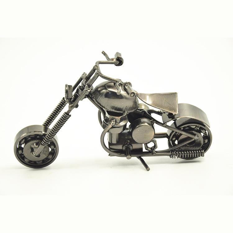 New Welding Iron Motorcycle Model Souvenir Artificial ktm Motorbike Models Desktop Alloy Motorcycle Decoration(China (Mainland))
