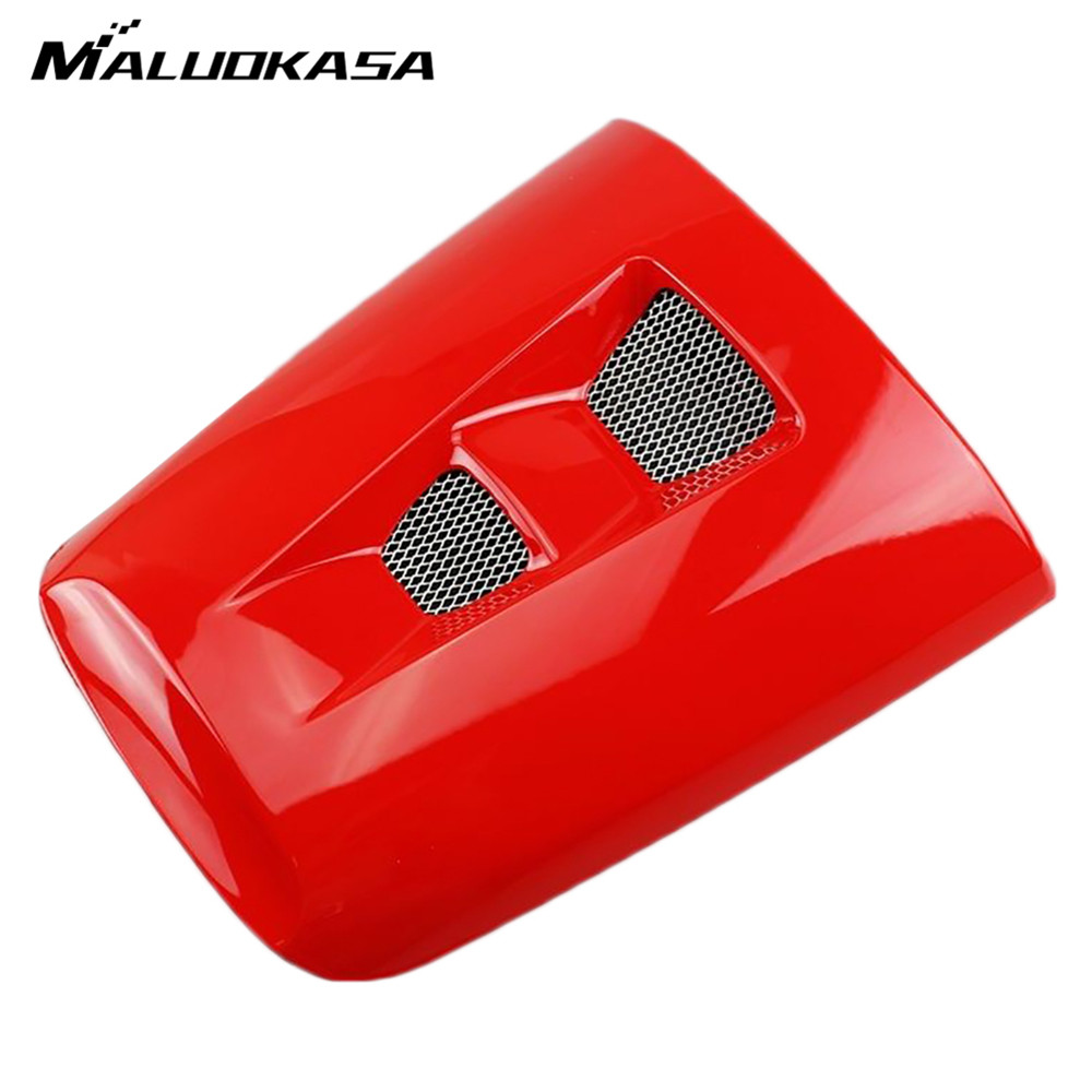 MALUOKASA Motorcycle ABS Plastic Rear Pillion Seat Cowl Fairing Cover for Honda CBR1000R 2004 2005 2006 2007 Motorbike Back Seat