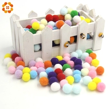 Buy 50PCS/Lot 12 Colors 15MM Multi Option Pompoms Soft Pom Poms Balls DIY Home Garden Wedding Decoration / Sewing Accessories for $1.69 in AliExpress store