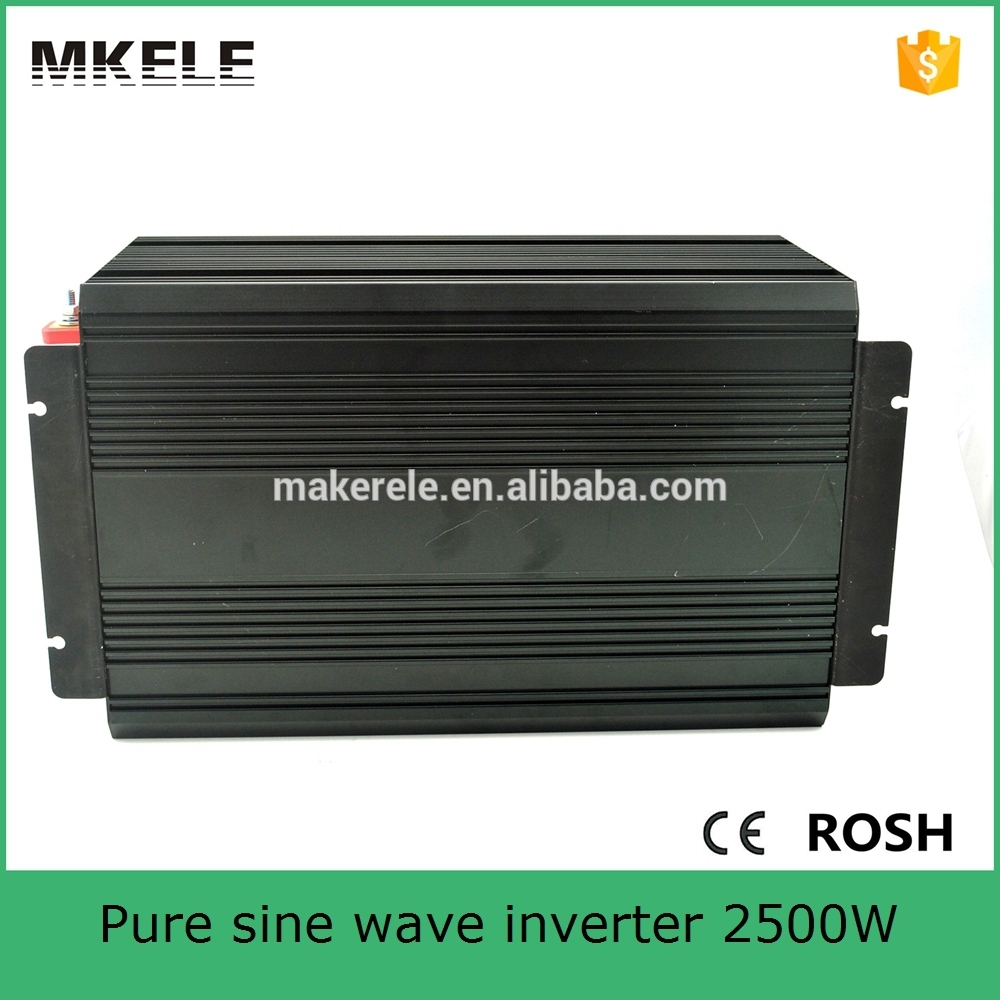 MKP2500-241B pure sine wave 2500watt big power inverter 24vdc to 115vac off grid type for home use(China (Mainland))