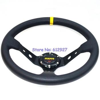 "Free Shipping 14"" MOMO PVC Racing Steering Wheel"