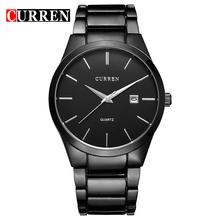 relogio masculino CURREN Luxury Brand Full Stainless Steel Analog Display Date Men's Quartz Watch Business Watch Men Watch 8106(China (Mainland))