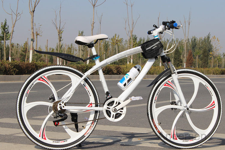 New Free Shipping 26 Inch 24 Speed Mountain Bike Bicycle Colorful downhill Road bikes With Double