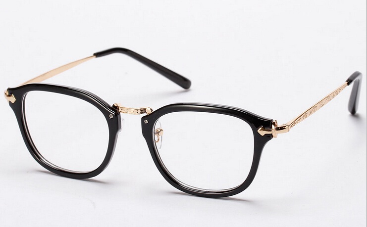 2015 new eyewear optical frame woman eyeglasses big square frame myopia nerd glasses men spectacle frames