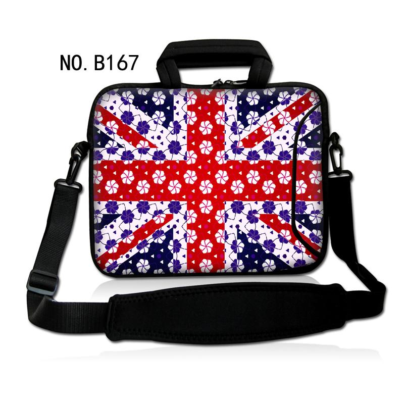 "Fashion Snow Union Jack Laptop Shoulder Bag Messenger Case Cover For Alienware/HP 10.1"" 13.3"" 11.6"" 14' 15.6"" 17.3""(China (Mainland))"