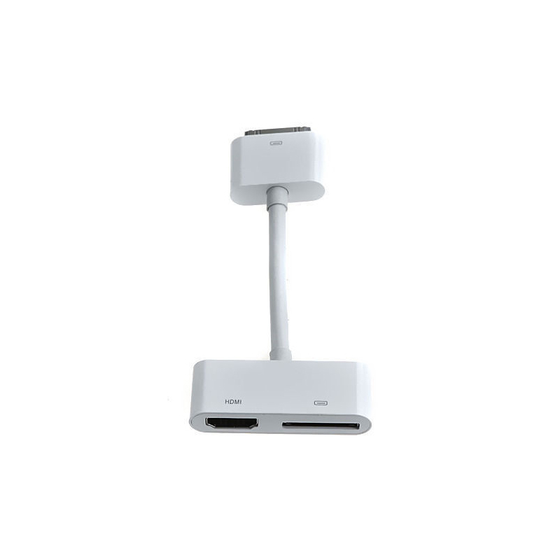 Digital AV HDTV Adapter 30 Pin Dock Connector to HDMI for Apple iPad 2 3 iPhone 4S touch4 ios8.0(China (Mainland))