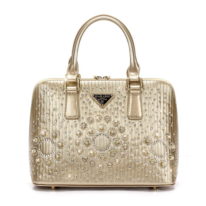 [Ali] gang burst models in Europe and America to fight the new handbag evening bag shell bag big diamond handbag wholesale<br><br>Aliexpress