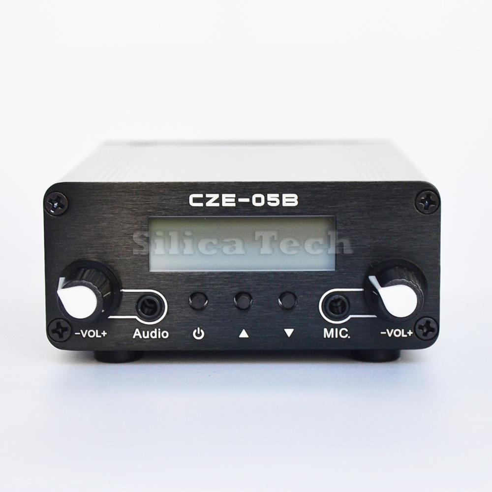 2pcs  1.5W or 15W FM Transmitter Stereo PLL LCD Broadcast ST-15B 87-108MHZ  TNC