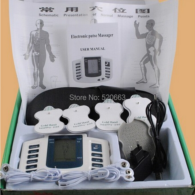Slimming Massager TENS Massager/Low Frequency Therapy Equipment/Electronic pulse massager/stimulator/Physical therapy machine(China (Mainland))