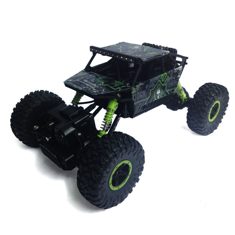 1/18 Rock Crawler Remote Control RC High Performance Truck Car 2.4 GHz Control System Vehicle with Four Wheel Drive(China (Mainland))