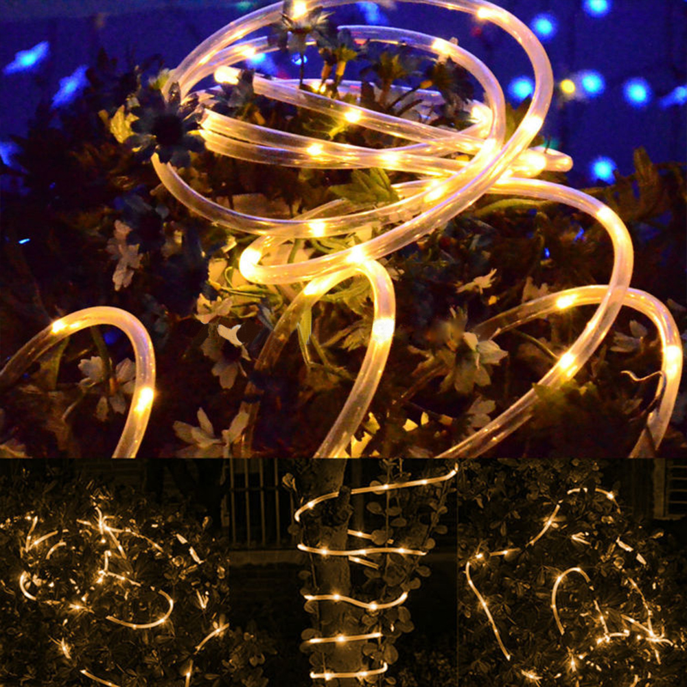 String Lights On Off Switch : TSLEEN NEW TOP Waterproof ON/MODE/OFF switch LED Strip light 33FT 10M 100Leds Decor Outdoor ...