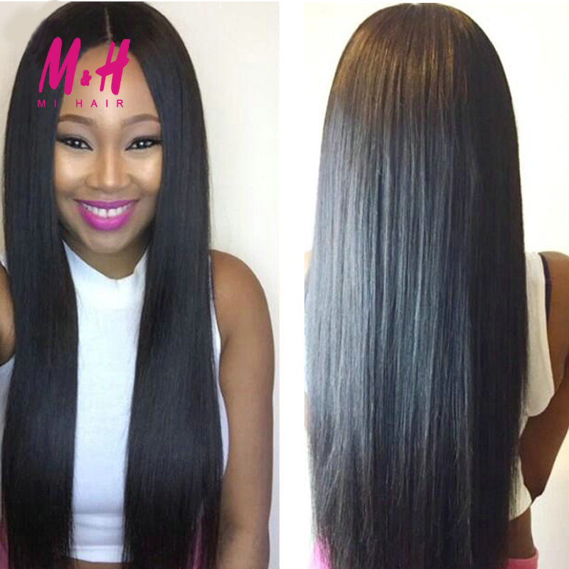 Brazilian Virgin Hair With Closure Brazilian Straight Hair Bundle With Closure 2 3 4 Bundles and Closure Human Hair With Closure