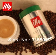 Free shipping illy coffee beans low caffeine 250g green can Certified Goods