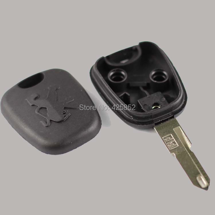 HK Post Free Peugeot 206 Transponder Key Shell With VA3-L Blade Replacement Key Cover <br><br>Aliexpress