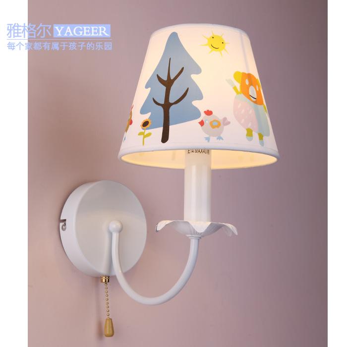 free shipping Cartoon children wall lamp bedroom lamp room light study lamp boy children bedroom wall lamp wall lamp bedside lea<br><br>Aliexpress
