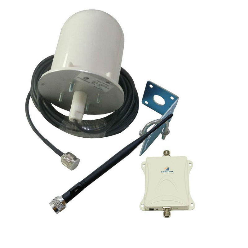 1800MHz GSM/4G/LTE Amplifier 70dB Mobile Phone Signal Antenna Booster Repeater and Outdoor
