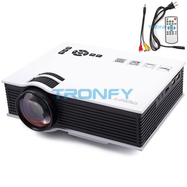 Tronfy Original UC40 Pico Portable Mini Video Projector with USB HDMI For Home Theater Beamer Multimedia Projector In Stock(China (Mainland))