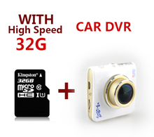 New Ambarella A8 Car dvrs Camera1296P/1080P HD DVR Recorder 170 Degree Car Motion Detection Dashboard Dashcam Camcorders 32GB
