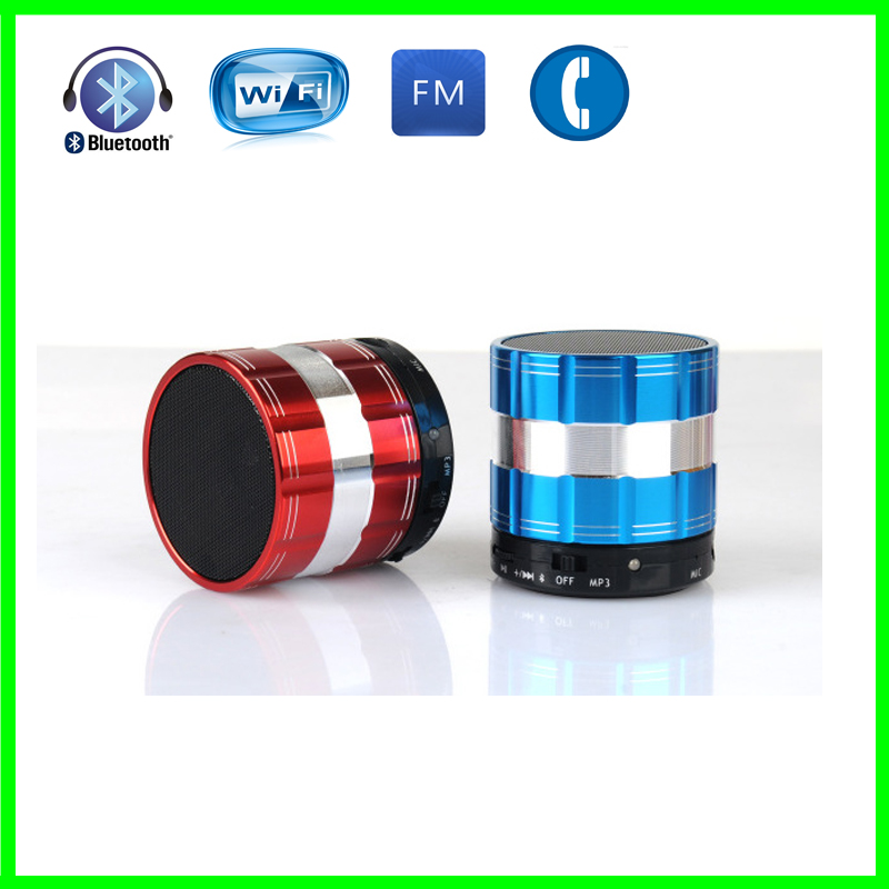 Free shipping ! Portable Wireless Bluetooth Speaker 3W Stereo Audio Sound TF-Card Support Subwoofer Speaker For iPhone MP3 MP4(China (Mainland))