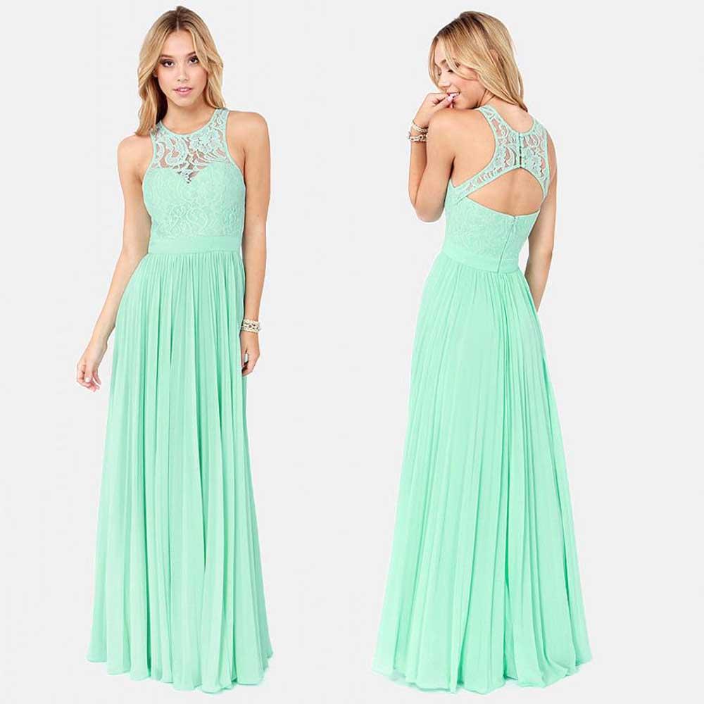 Vestidos De Novia Зеленая мята Платья Невесты Vintage Платье De Festa Лонго Плюс Размер Дешевые Партия Платье Невесты B57