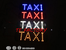 Free Shipping! 4PCS/LOT 45SMD LED TAXI Sign Board Light Indicator Instrument In Night Driving White Red Blue Amber Mix Color(China (Mainland))